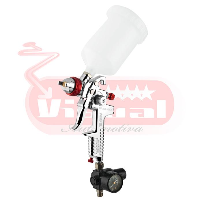 PISTOLA DE PINTURA WIMPEL MP-250 BICO 1.4 E 1.7mm