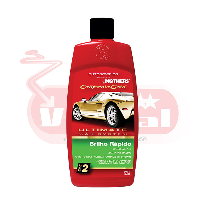 Brilho Rapido Mothers Ultimate Wax System 473ml