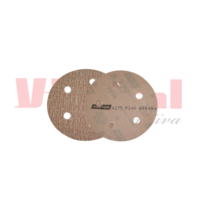 DISCO DE LIXA HOOKIT NORTON A-275 152x0x6mm