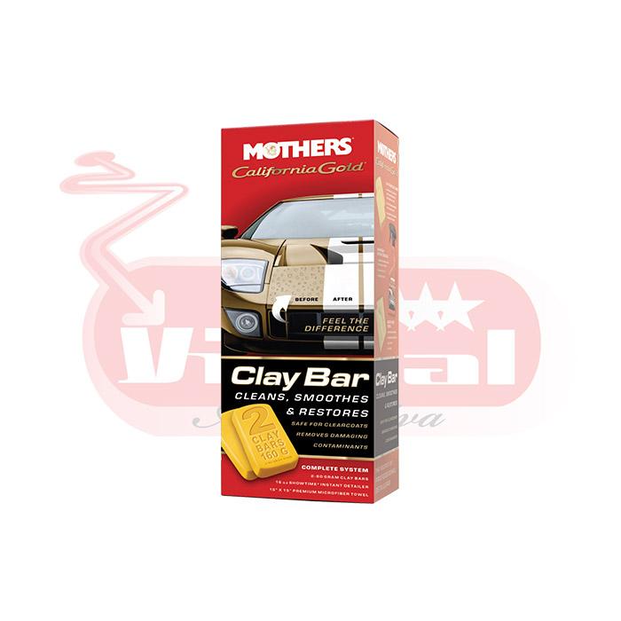 Clay Bar Kit Mothers Removedor De Contaminacoes